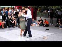 Argentine Tango Street Dancers in Buenos Aires - Nicholas Tapia